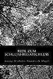 Rede Zum Schuljahresabschluß, Georg Wilhelm Friedrich Hegel, 1479290009