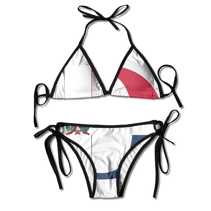 Are not dominican republic flag bikini removed
