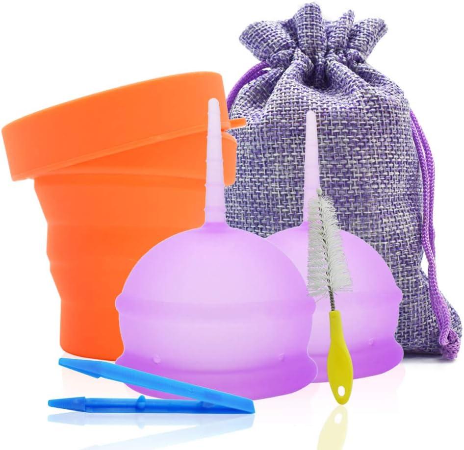 SPEQUIX - Copa menstrual para mujer con taza esterilizadora y ...