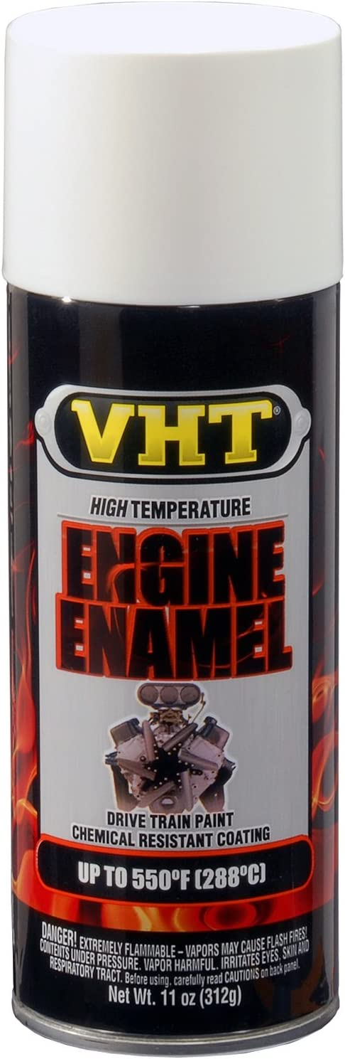 VHT SP129 Engine Enamel Gloss White Can - 11 oz.