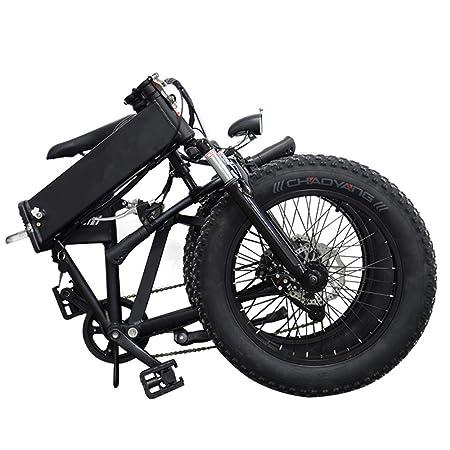 H&J Bicicleta eléctrica Plegable Bicicleta eléctrica de Nieve ...