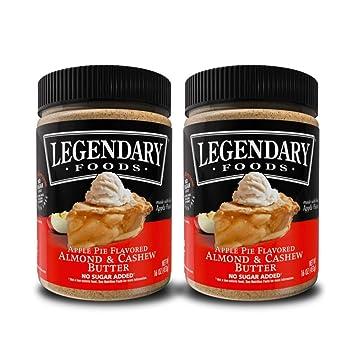 Legendary Foods Mantequilla de almendra y anacardos para ...