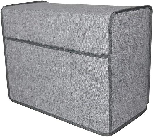 TUYU TYDZ363 - Funda acolchada para máquina de coser, compatible con la mayoría de máquinas Brother y Singer, con compartimento de almacenaje: Amazon.es: Hogar