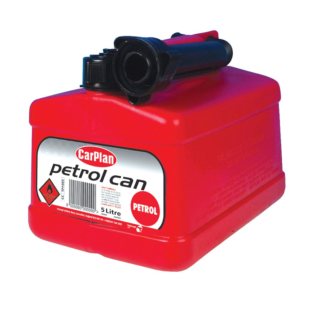 CarPlan TPF005 Tetracan Petrol 5L Tetrosyl Ltd