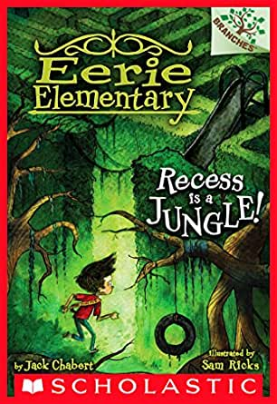 Recess is a jungle a branches book eerie elementary 3 kindle print list price 499 fandeluxe Image collections