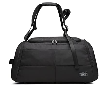 KEYNEW 55L Sports Gym Bag Canvas Travel Duffel with Shoe Compartment 888b7c7ca9d98