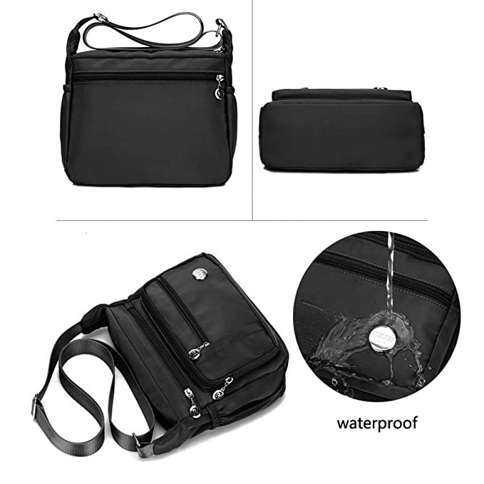 Waterproof Crossbody Bag for Women with Anti Theft Pocket be4c87f70eaba