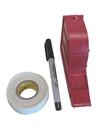 3 M SWD Scotch Código dispensador con 250 cable markierern, se puede escribir, color