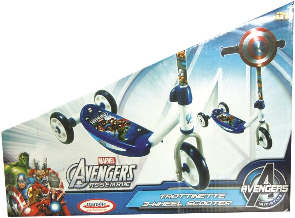 Amazon.com: Rocco Toys – Avengers Scooter 3 Wheels: Toys & Games