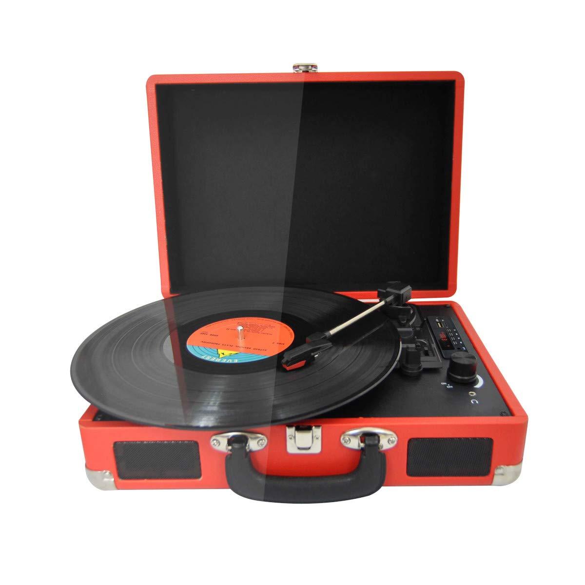 PRIXTON - Tocadiscos de Vinilo Vintage, Reproductor de Vinilo y ...