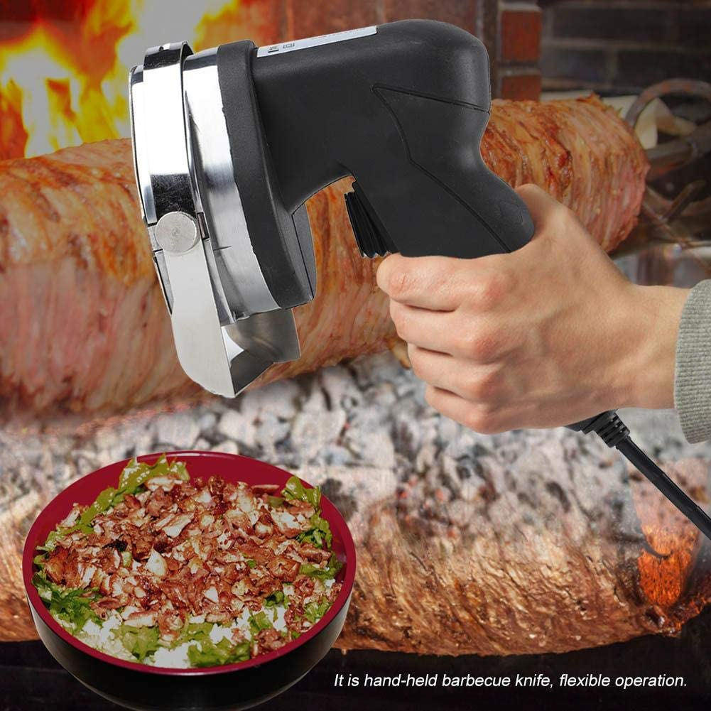 Doner Kebab Couteau Slicer Cutter Blade Électrique Shawarma 3000 tr//min 80W DHL