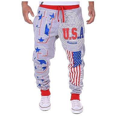 Pantalones De Hombre Hombres Moda Deportes Pantalones de chándal ...