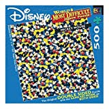 World's Most Difficult Mickey Mouse Jigsaw Puzzle 529pc