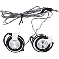 SUPVOX Wired Headset Clip On Ear Headphones EarHook Earphone Stereo Headphones for Mp3 Player Computer