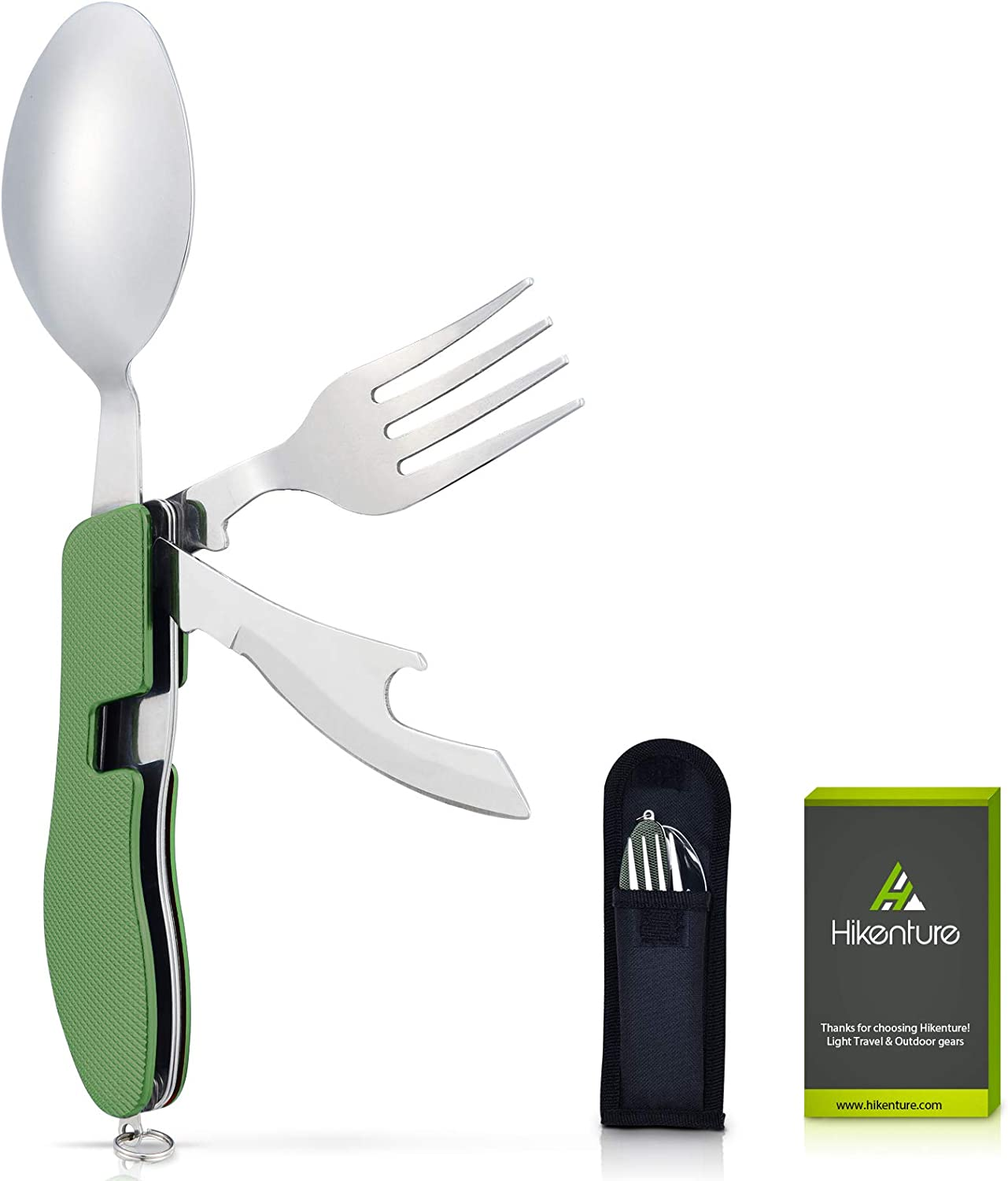 Foldable camping fork- spoon very light for camping trekking travel Plastic