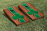 NCAA Rosewood Stained Cornhole Game Set NCAA Team: Shamrock