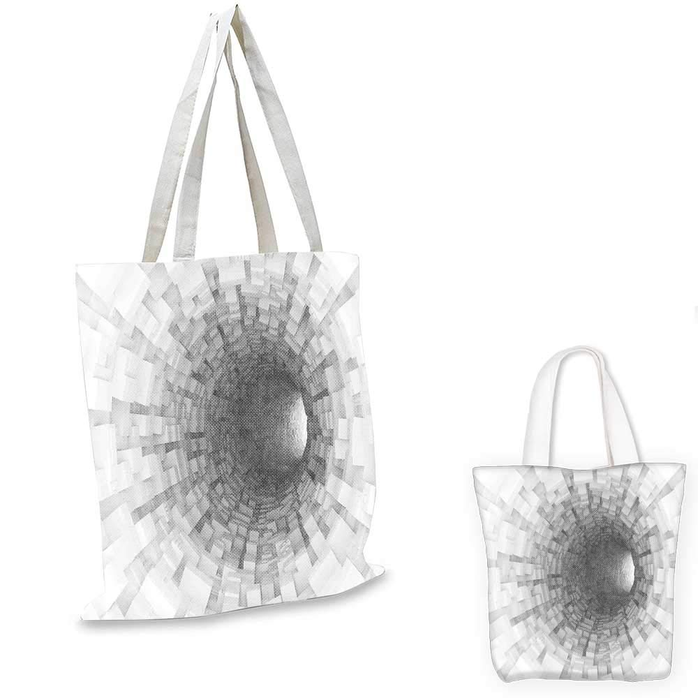 12x15-10 Outer Space canvas messenger bag Spiritual Dim Star Clusters Milky Way Inspired Circle Back with Solar Elements shopping bag for women Purple Blue