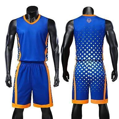Jersey Baloncesto Hombres, Cómodo Sin Mangas Baloncesto Jerseys + ...