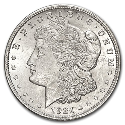 1921 Morgan Dollar BU $1 Brilliant Uncirculated