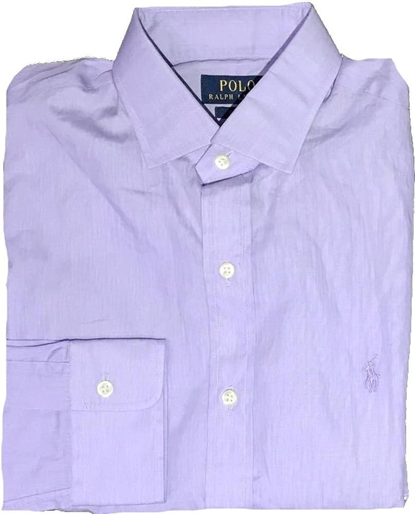Polo Ralph Lauren - Camisa de Vestir - para Hombre Morado Lilac 38 ...