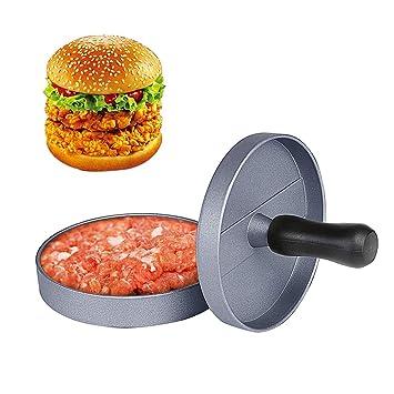 Amazon.com: Burger Press - Molde antiadherente para hacer ...
