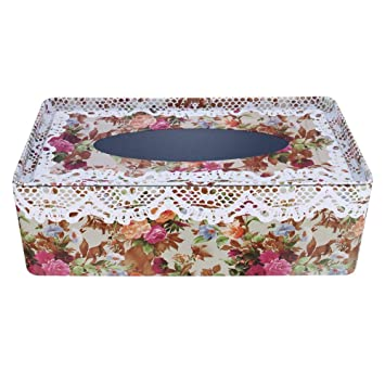 Hierro Kleenex Caja de pañuelos, diseño dispensador de pañuelos de bolsillo) Trébol NEX Box