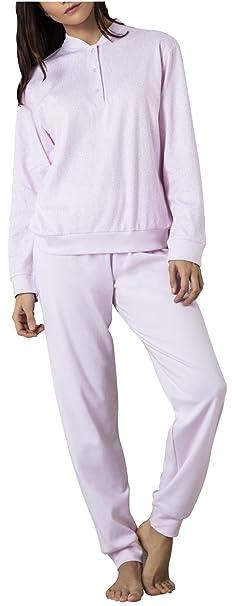 Pijama mujer invierno con puño