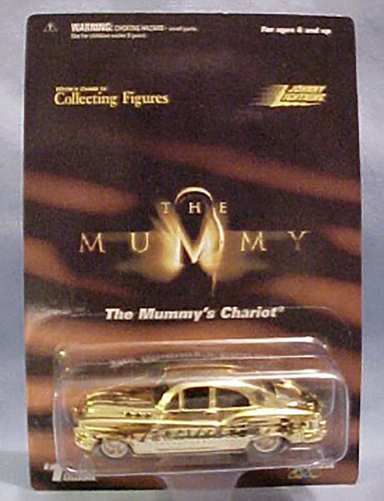 The Mummy' Chariot-johnny Lightning Exclusive Gold Limited Edition White's Guide Hot Rod by Johnny Lightning