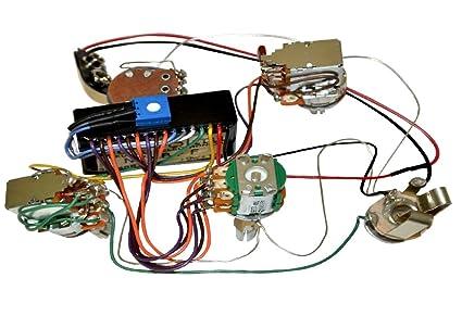 Amazon.com: Bartolini HR-4.6AP/918 Preamp Harness - 3-Band EQ w/ 4 on active guitar pick up circuit diagram, p bass pickup wiring diagram, v8 ibanez pickup wiring diagram, active crossover wiring diagram, fender pickup wiring diagram, duncan pickup wiring diagram, emg 81 installation diagram, jackson pickup wiring diagram, active stratocaster with humbucker wiring, active pickup voltage, active strat wiring diagram, soap bar pickup wiring diagram, humbucker pickup wiring diagram, bass guitar pick up diagram, stratocaster hss pickup wiring diagram,