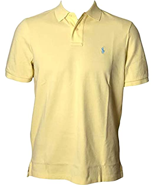 a4f28cc24 Image Unavailable. Image not available for. Color: Ralph Lauren Polo Men  Medium Fit Interlock Polo Shirt ...