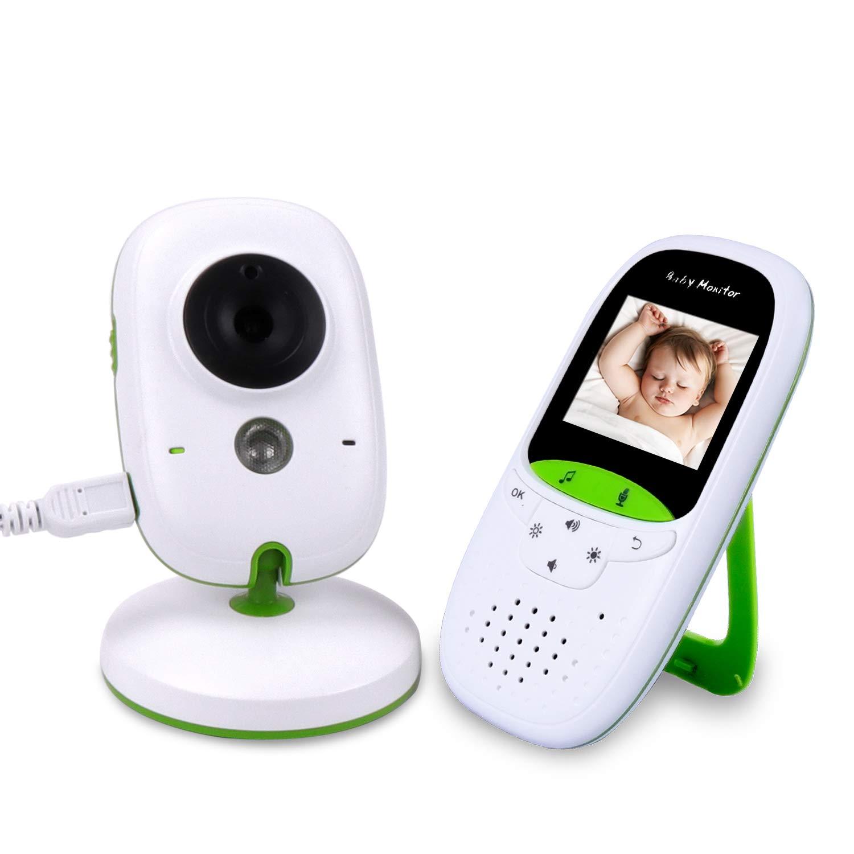 Babyphone Caméra Sans Fil - COLORWAY Bébé Moniteur ÉCO 24H Ecran LCD Écoute Bébé Vision Nocturne VB602