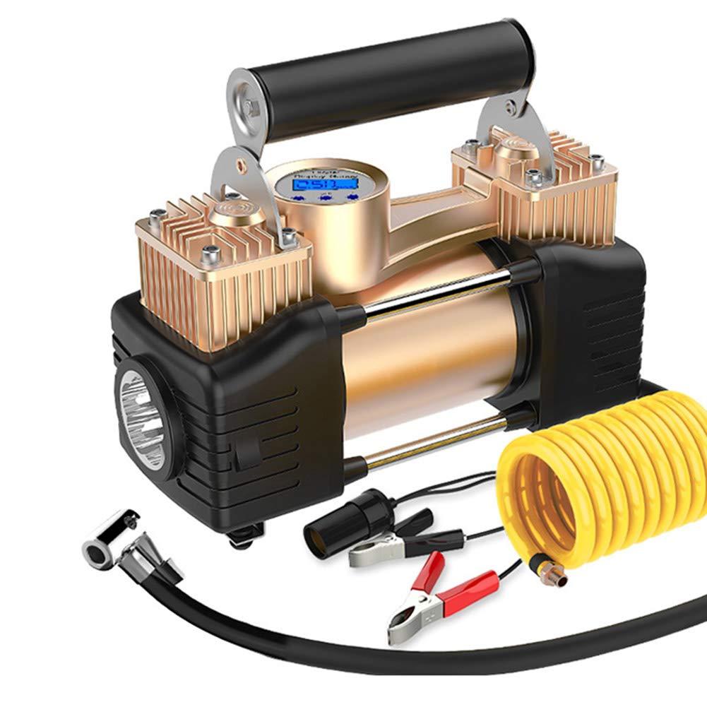 Amazon.com: CAPTIANKN Bomba de aire portátil compresor, 12 V ...