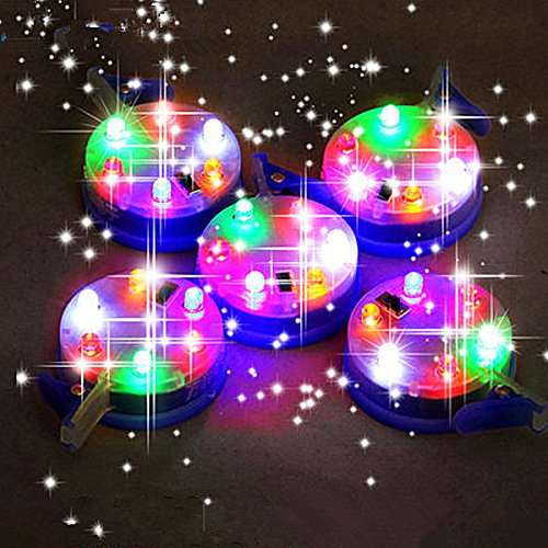 6diadema lámpara interruptor cometa luces brillante luz LED para grandes cometas con interruptor