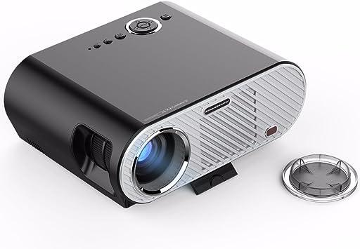 Mini proyector de vídeo portátil Full HD Home Cinema Cinema LED ...