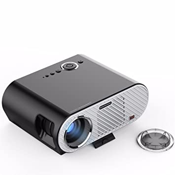 Mini proyector de vídeo portátil Full HD Home Cinema Cinema LED ...