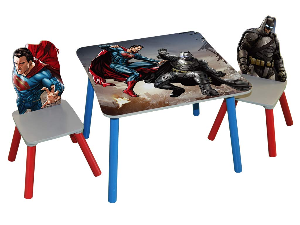 Strange Amazon Com Okids Superman Dawn Of Justice Wooden Table Pabps2019 Chair Design Images Pabps2019Com