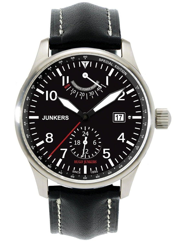 ユンカース 腕時計 生誕150周年記念限定生産モデル 自動巻き 6666-2 [並行輸入品] B00FZL8FGU