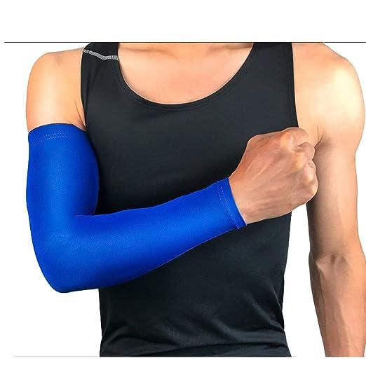 1 calentador de brazo de compresión para deportes, protección UV ...