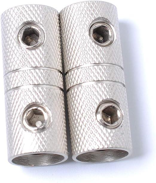 2 AWG Gauge Wire Coupler Terminal Butt Connector Screw Barrel 9 pack