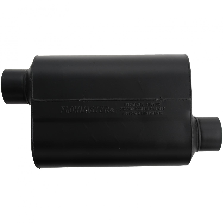 Flowmaster 953048 Super 40 Muffler 3.00 Offset IN Aggressive Sound 3.00 Offset OUT