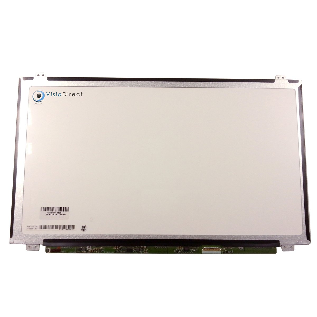 Visiodirect® Bildschirm LCD Display 15.6' LED für Laptop LENOVO IDEAPAD 110-15ISK