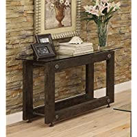 Coaster Home Furnishings 704279 Sofa Table, NULL, Brown/Black