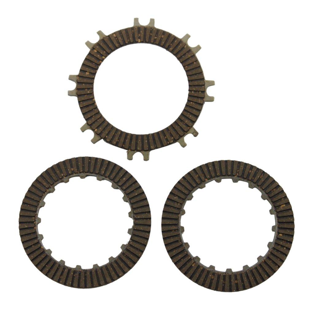 GOOFIT Single-automatic Clutch Plate for 50cc 70 Cc 90cc 110 Cc 125cc Atvs Dirt Bikes Go Karts Quad 4 Wheeler Pit Bike K072-018