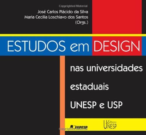 Estudos em design nas universidades estaduais UNESP e USP (Portuguese Edition) pdf epub