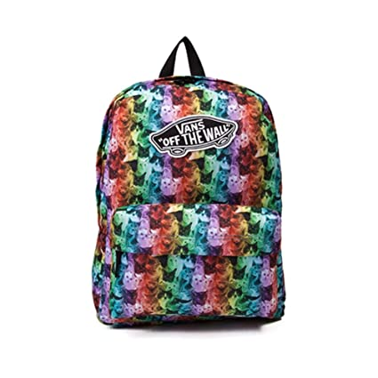 0fbbbf63714e Image Unavailable. Image not available for. Color  Vans Unisex Realm ASPCA  Rainbow Kitty Cat Backpack ...