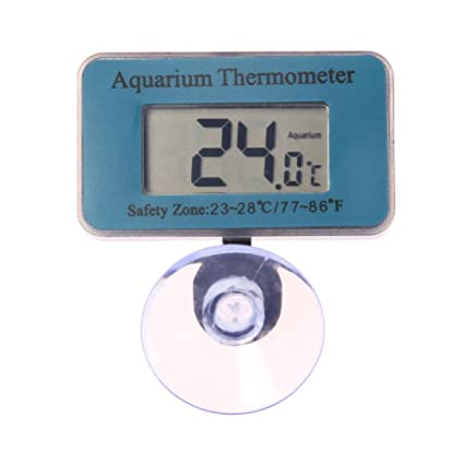 Termómetro Digital Trendyest Medidor de Temperatura Inalámbrico para Agua con Termómetro de Acuario Digital para Acuarios