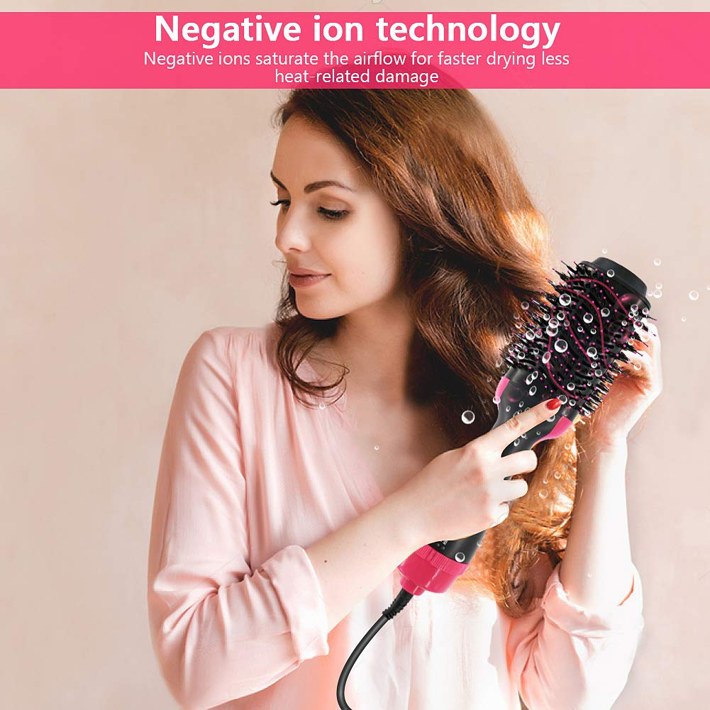 Hair Dryer Brush, NEXT BEAUTY One Step Hair Dryer and Styler, Hot Air Brush One Step Hair Dryer and Volumizer for Hair Drying and Straingtening