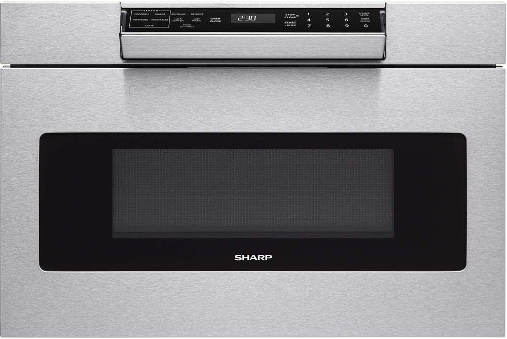 Amazon.com: Sharp – Microondas smd3070as cajón Horno, 30 ...