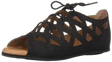 5a7f5ce835b Gentle Souls by Kenneth Cole Women s Betsi Flat Lace-up Sandal Sandal