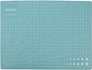 Meprotal 300 × 220 mm A4 Cutting Mat PVC Cutting Mat Self-Healing Cutting Mat Office School Cutting Board Surface Anti-Slip Design Mint Green